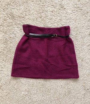 Skaterska spódnica czerwona jeżyna