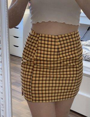 C&A Miniskirt yellow-orange