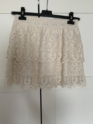 Review Lace Skirt natural white