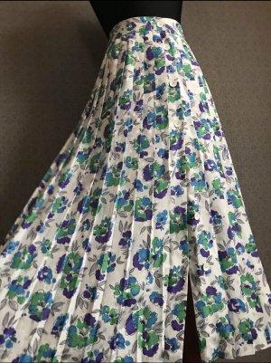 True Vintage Plisowana spódnica Wielokolorowy
