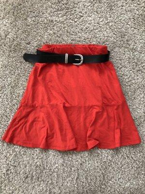 Skaterska spódnica czerwony