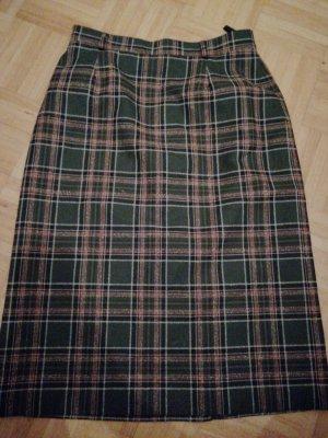Lucia Wool Skirt dark green