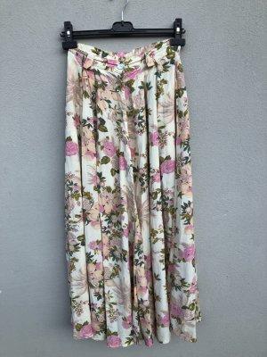 True Vintage Plaid Skirt multicolored viscose