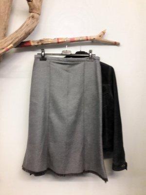 Fringed Skirt grey-azure