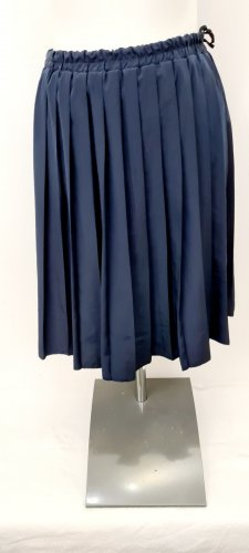 Vintage Love Falda plisada azul oscuro