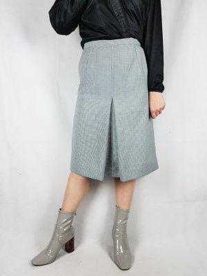 True Vintage Jupe à plis argenté