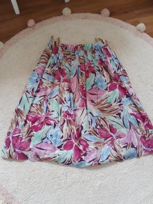 C&A Plaid Skirt multicolored viscose