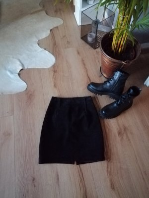 Express Leather Skirt black