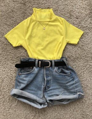 Turtleneck Shirt yellow