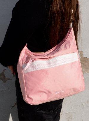 Vintage Rose/Pink Tasche Verstellbar Bubble Gum Y2K Style