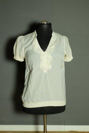 Vintage Rüschen-Bluse