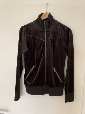 Vintage Samt Jacke Blouson H&M