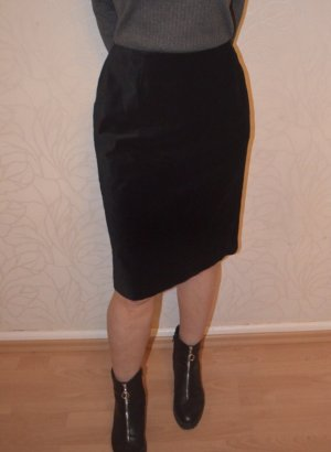 Vintage Rok met hoge taille zwart