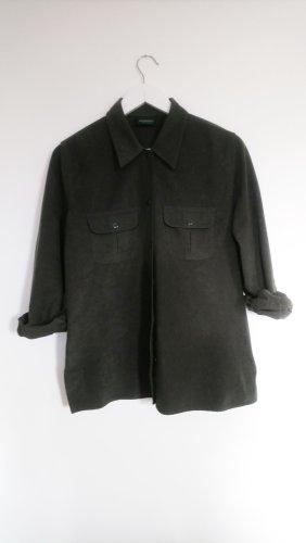 Vintage Camicia da caccia multicolore Tessuto misto