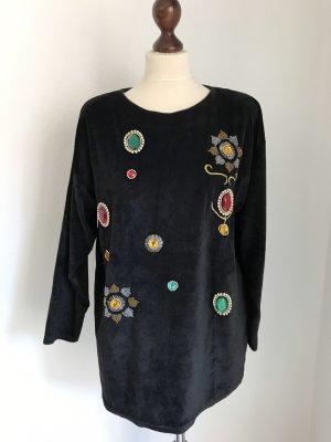 Vintage Pull oversize multicolore