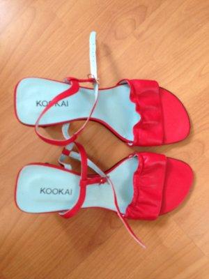 Kookai Sandales à talons hauts et plateforme multicolore