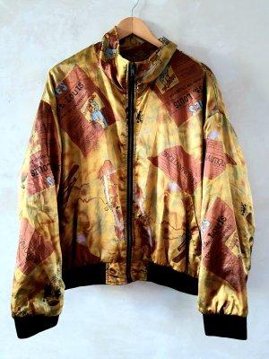Vintage Bomber Jacket multicolored