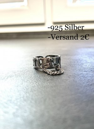 Vintage Saturn Ring 925 Sterlingsilber