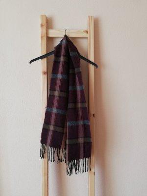 Vintage Gebreide sjaal veelkleurig