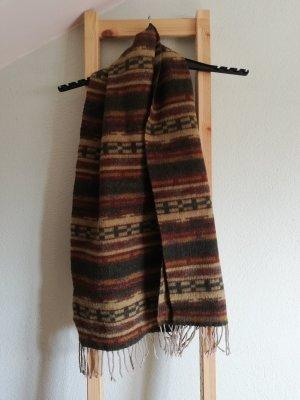 Vintage Schal gemustert