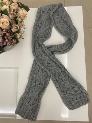 keine Marke Knitted Scarf multicolored