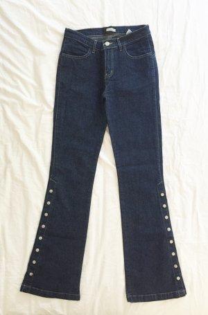 Madonna Jeansowe spodnie dzwony Wielokolorowy Bawełna