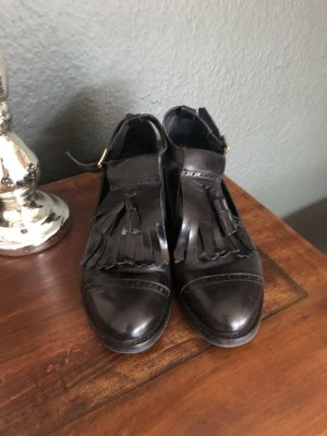 Jonak Chaussures Mary Jane noir cuir