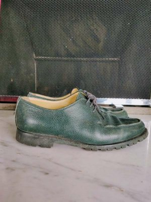 Walter Bauer Derby multicolored leather
