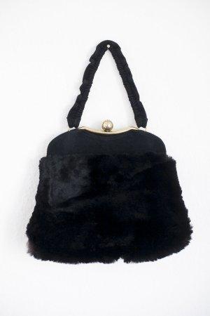 Vintage schwarze Tasche