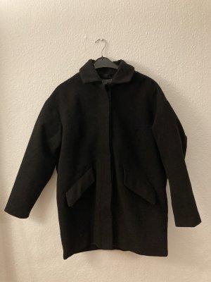 Vintage Wełniany sweter czarny