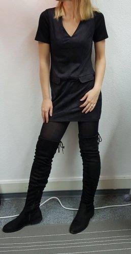 alternative vintage soft Robe mi-longue noir