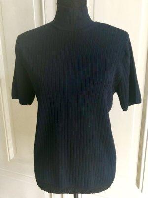 Talbots Turtleneck Shirt dark blue