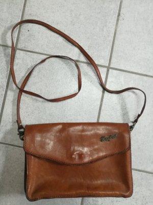 Vintage Serafini Umhängetasche Leder Damen