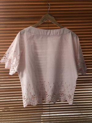 Short Sleeved Blouse pink-light pink