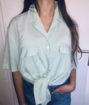 Vintage Shirt Oversized Karo Look