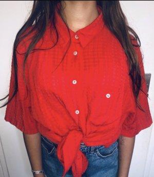 Vintage Shirt Red Oversized