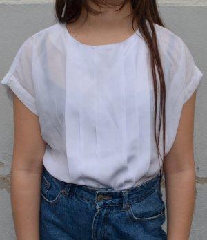 Vintage Oversized Shirt white