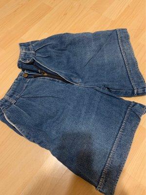 Jeans Club Short met bovenstuk staalblauw