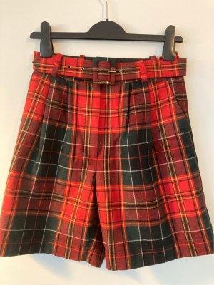 True Vintage Pantalón corto de talle alto multicolor