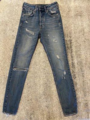 Vintage Skinny High Waist Jeans