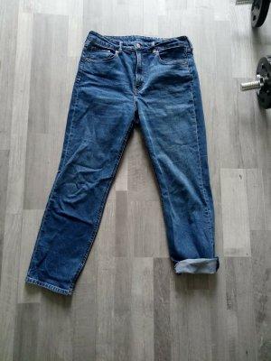 H&M Hoge taille jeans veelkleurig Katoen