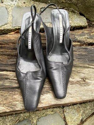 Fratelli rossetti Slingback Pumps black leather