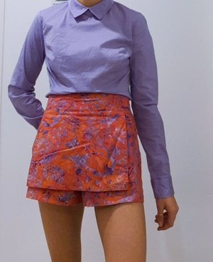 Vintage High-Waist-Shorts multicolored