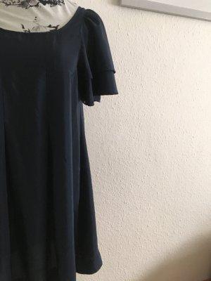 Vintage Sommerkleid dunkelblau