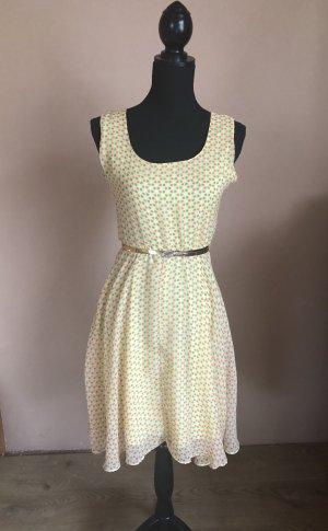 Vintage Sommerkleid Midikleid mit Punkten