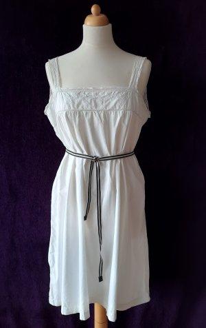 Vintage Sommerkleid mit Spitze und Stickerei Unterkleid Nachthemd