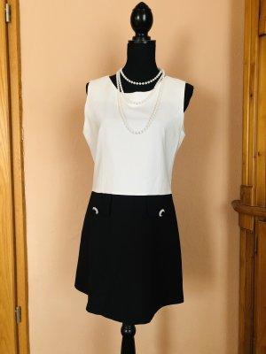 Vintage Summer Dress black-white