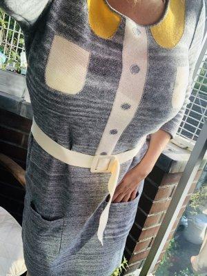 Vintage Sonia Rykiel Knit Kleid grau M/L