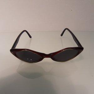 Byblos Gafas de sol ovaladas rojo amarronado