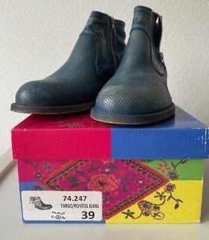 Vintage Stiefeletten Lazamani, Boots, Reißverschlüsse